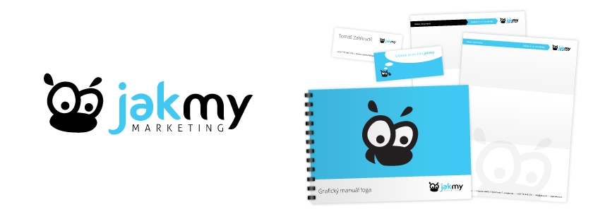 Jakmy marketing corporate identity, tvorba loga, logomanuál